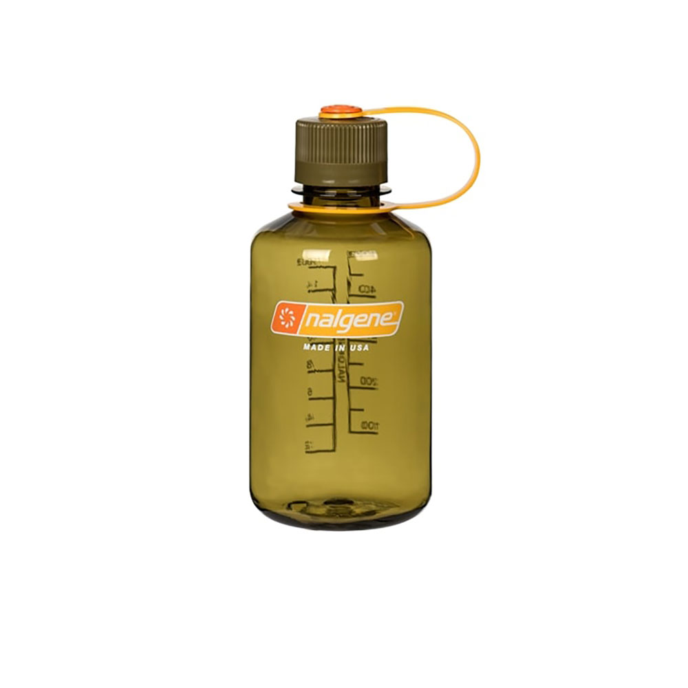 Olive 16 oz Nalgene® Tritan™ Narrow Mouth Bottles