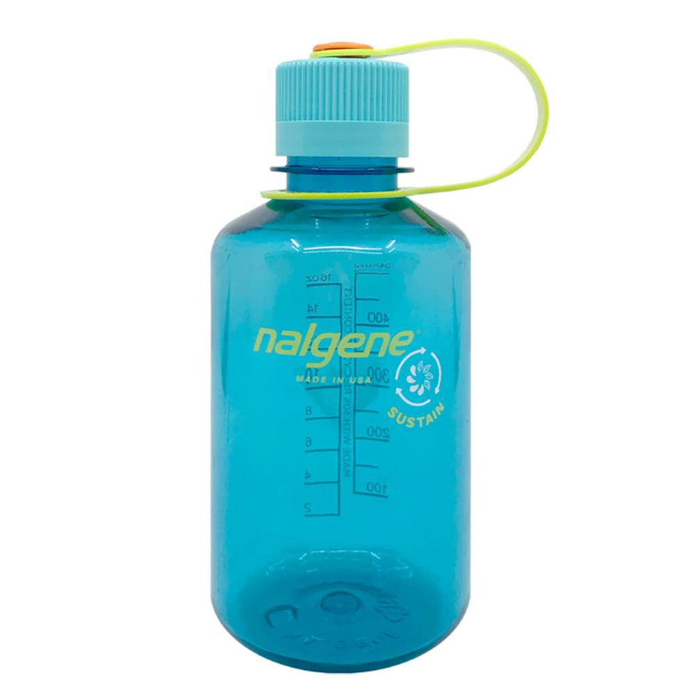 16 oz. Cerulean Narrow Mouth Nalgene® Sustain Bottle