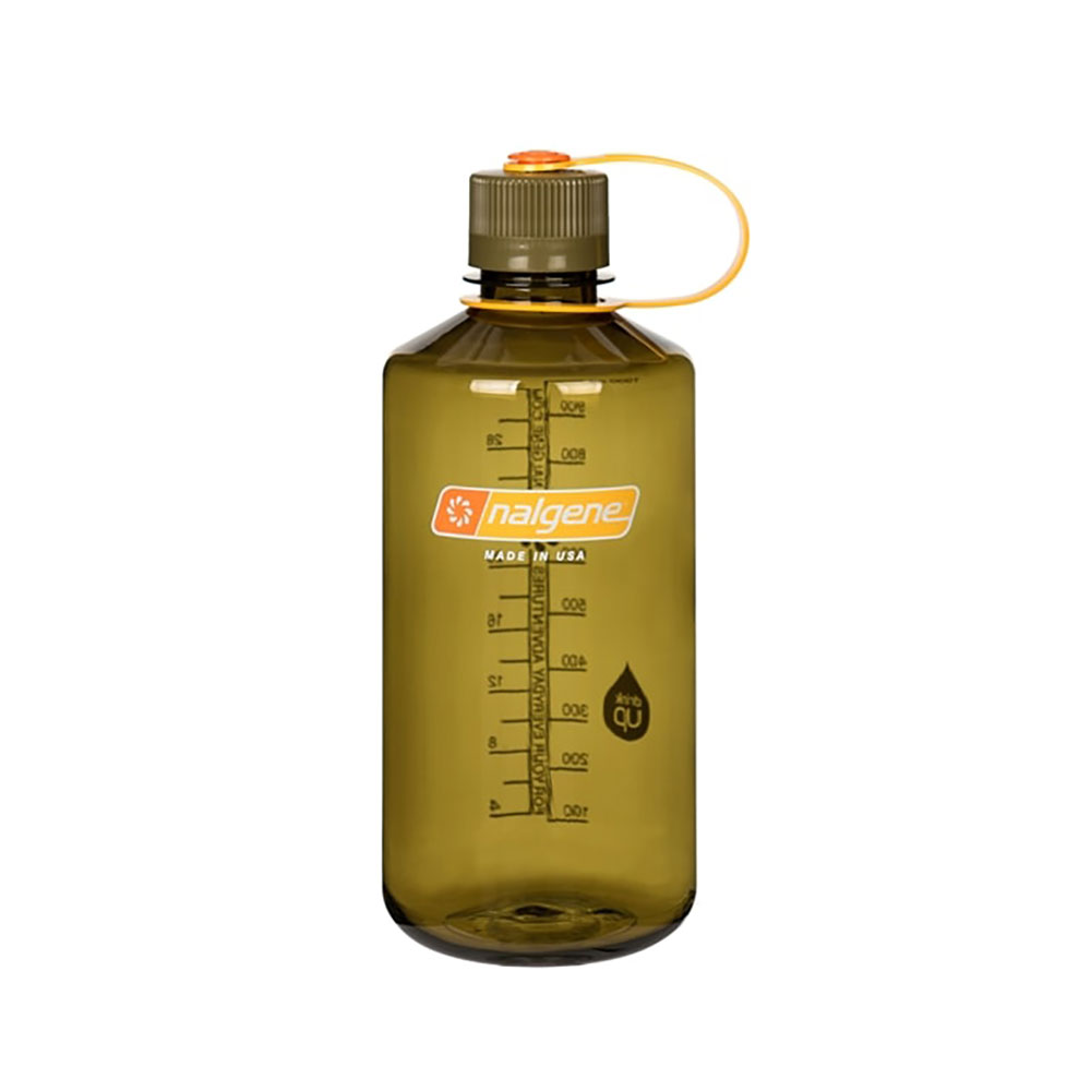 Olive 32 oz Nalgene® Tritan™ Narrow Mouth Bottles