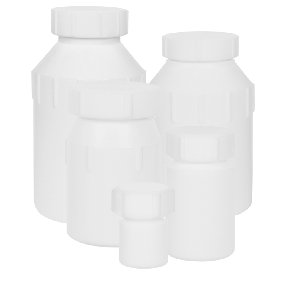 Air Tight Bottles with Screw Closures