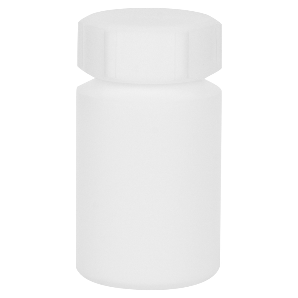 25mL Air Tight PTFE Bottle with Screw Closure Lid
