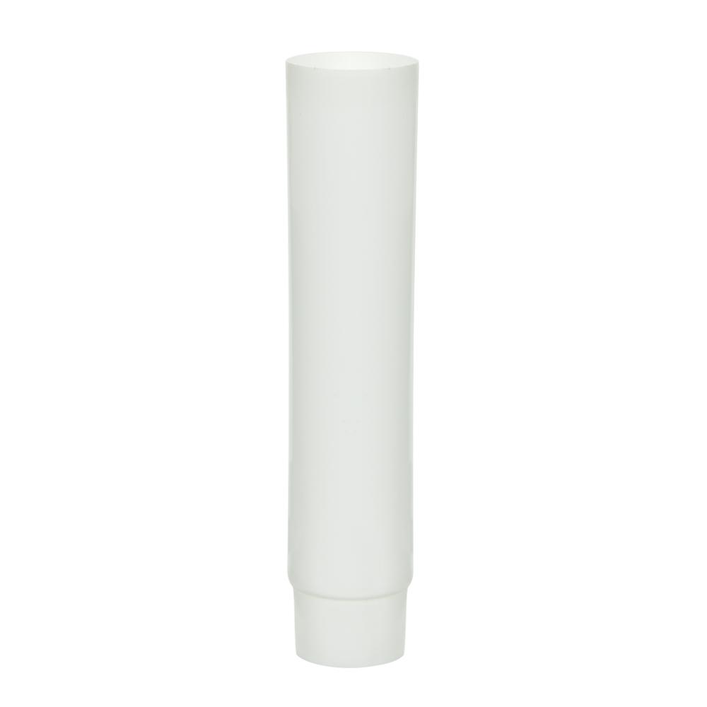 1/2 oz. White MDPE Lotion Tube with Flat Cap