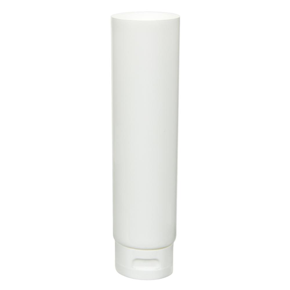 6 oz. White MDPE Lotion Tube with Flip Cap
