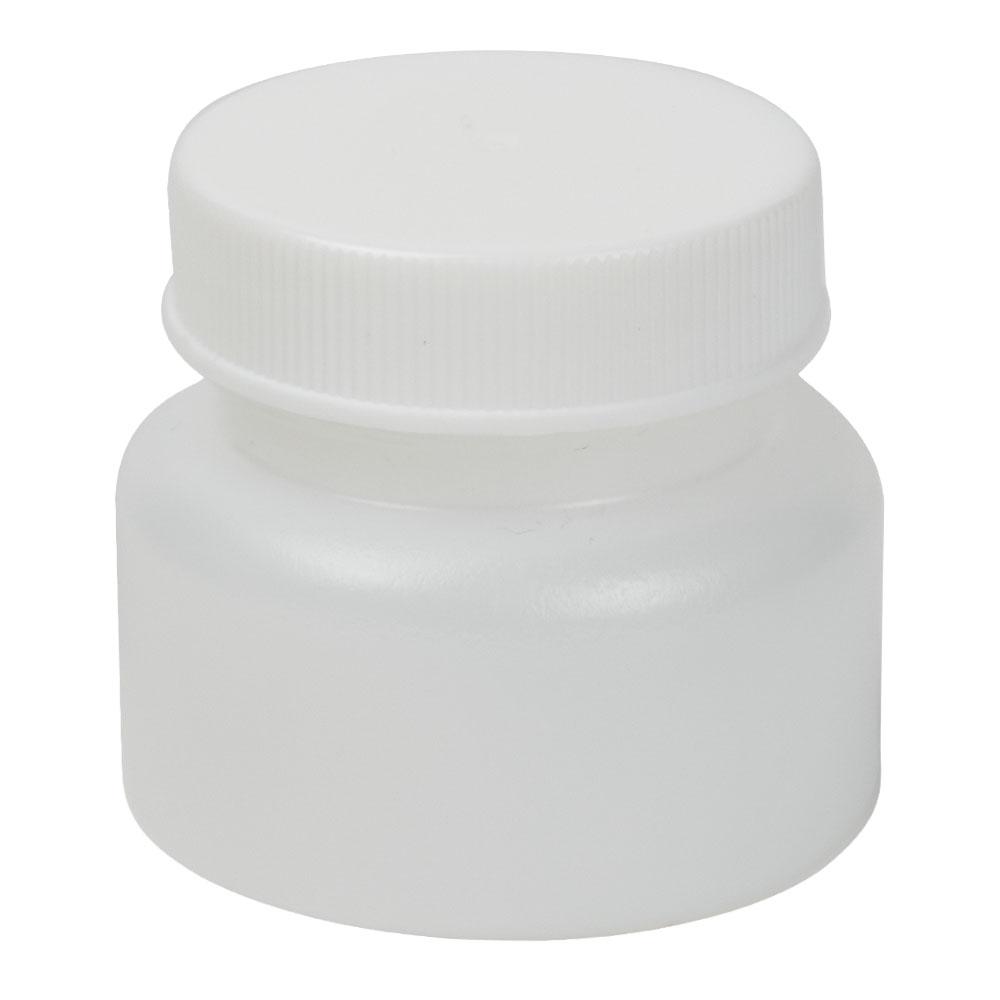 1 oz. HDPE Bottle with Cap