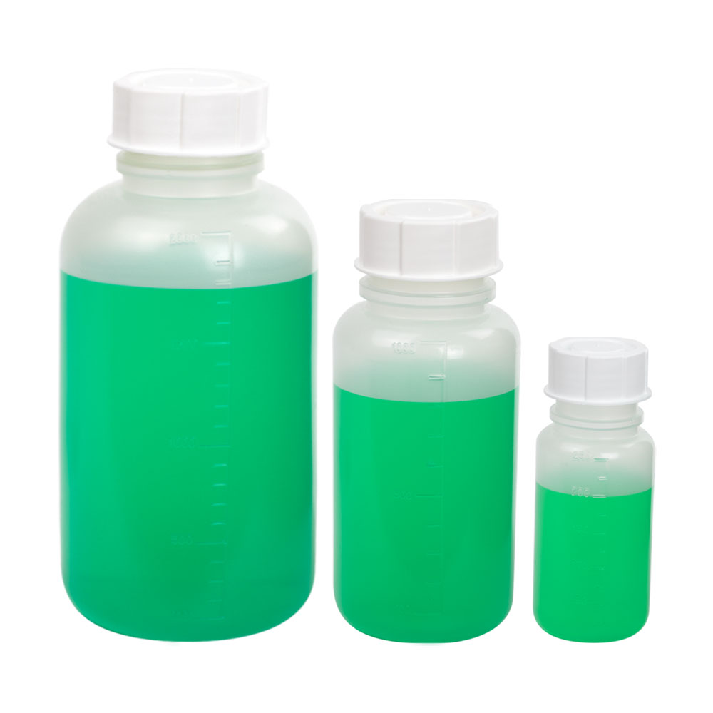 Rigid Wide Mouth Extra Sturdy General-Purpose Bottles
