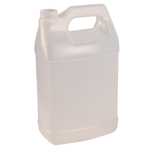 1 Gallon Natural Baritainer® F-Style Jug with 38/400 Neck (Cap Sold Separately)