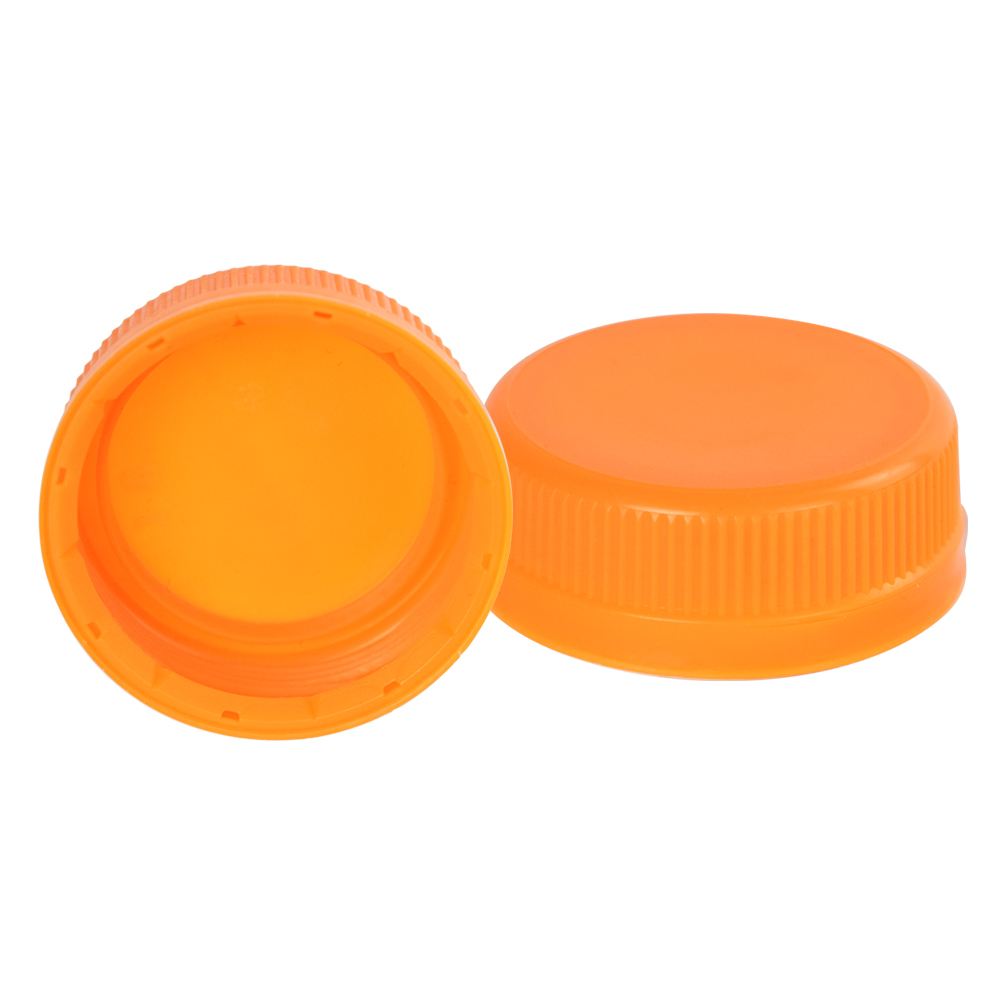 38mm Orange SSJ LDPE Tamper Evident Screw On Cap