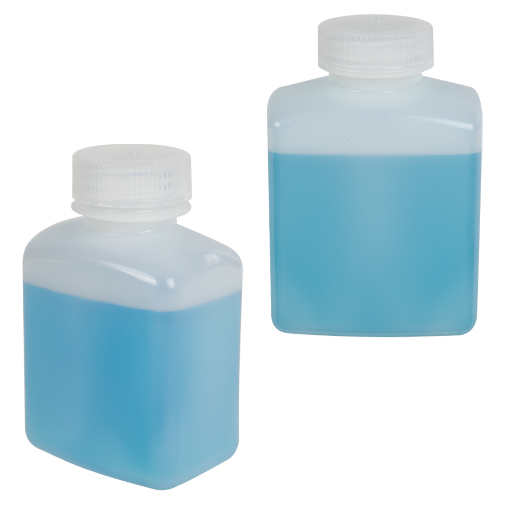 Diamond RealSeal™ Rectangular Bottles with Caps