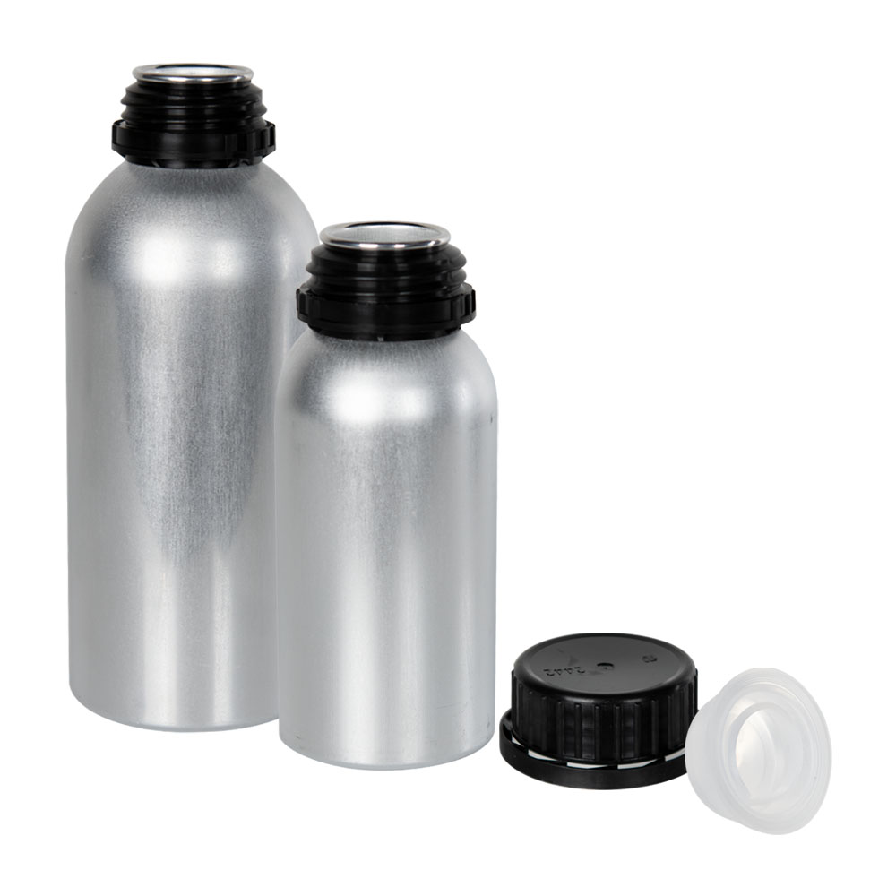 Agrochem Industrial Aluminum Bottles
