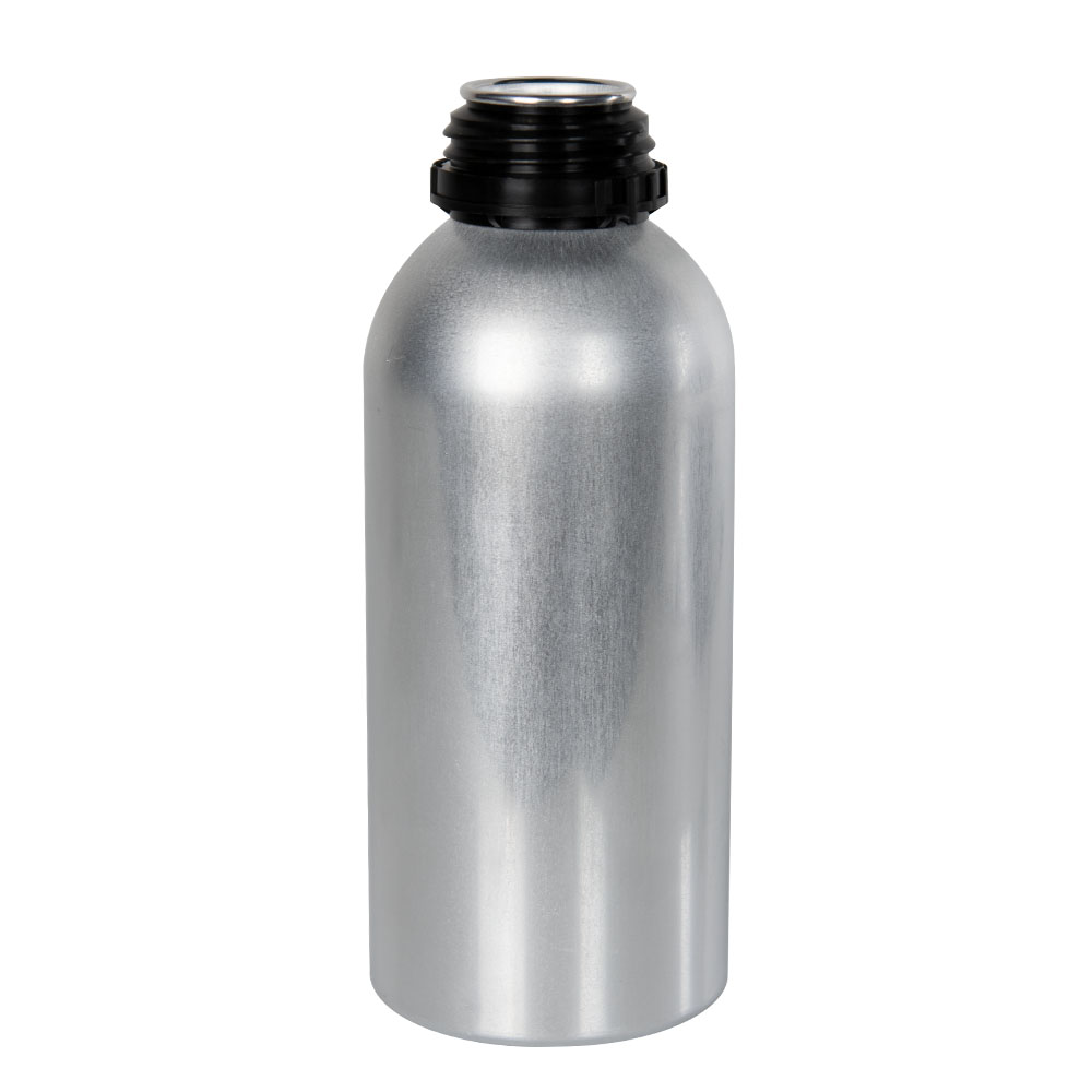 600mL/20 oz. Aluminum Agrochem Bottle (Cap Sold Separately)