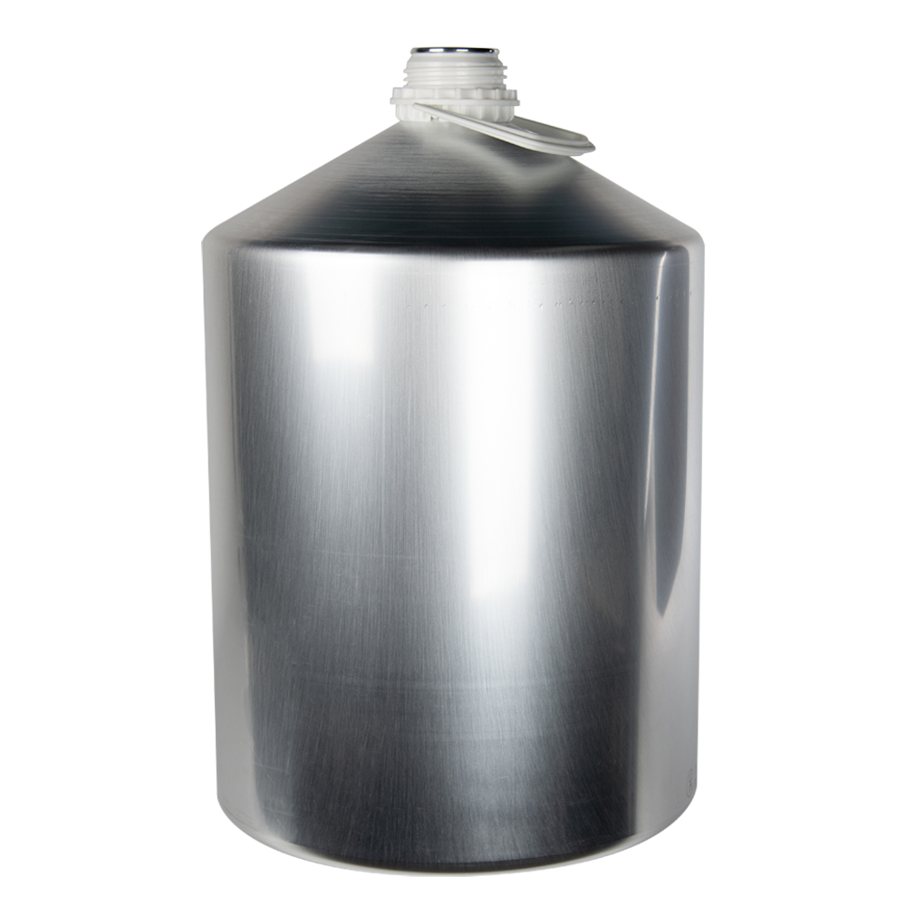25000mL/845 oz. Aluminum Plus 62 Bottle (Cap & Plug Sold Separately)