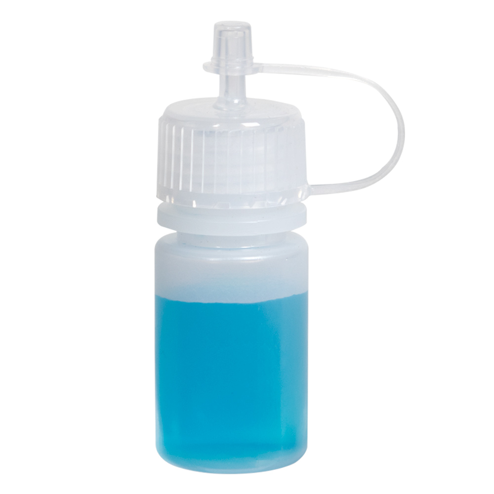 1/2 oz. LDPE Drop Dispensing Bottle with Cap