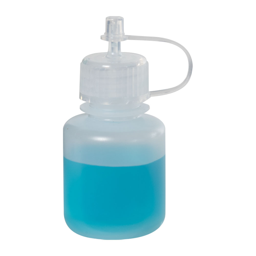 1 oz. LDPE Drop Dispensing Bottle with Cap