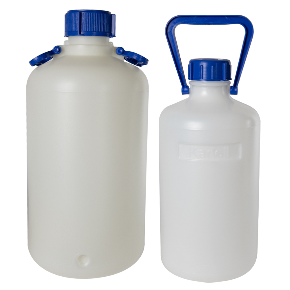 Heavy-Walled Narrow Mouth HDPE Carboys