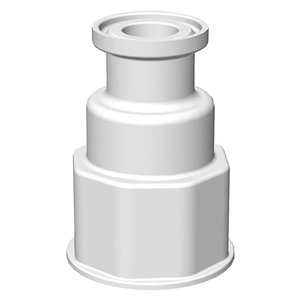 "1-1/8"" VersaBarb® Spigot Fitting with 3/4"" Sanitary Connector"