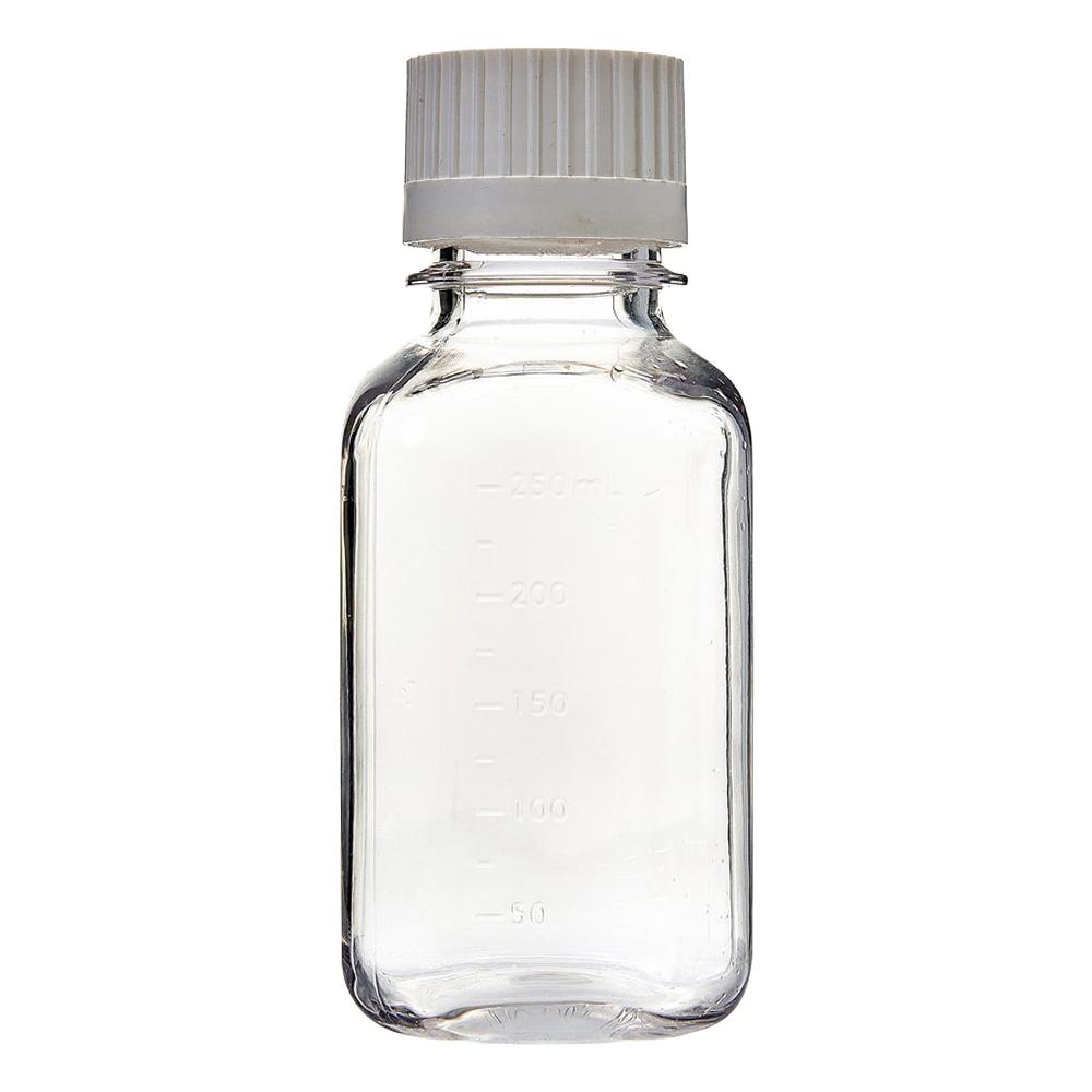 250mL EZBio® Sterile PETG Media Bottles with 38/430 Closed VersaCaps®