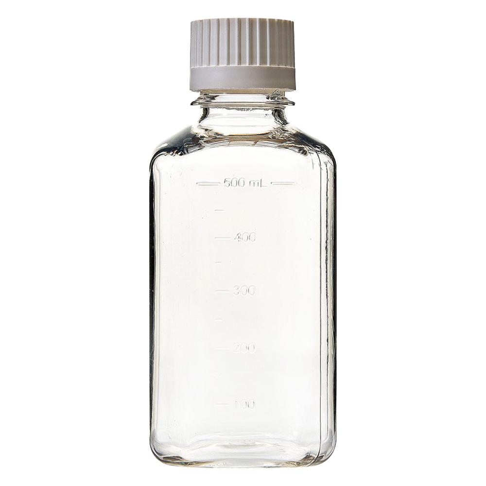 500mL EZBio® Sterile PETG Media Bottles with 38/430 Closed VersaCaps®