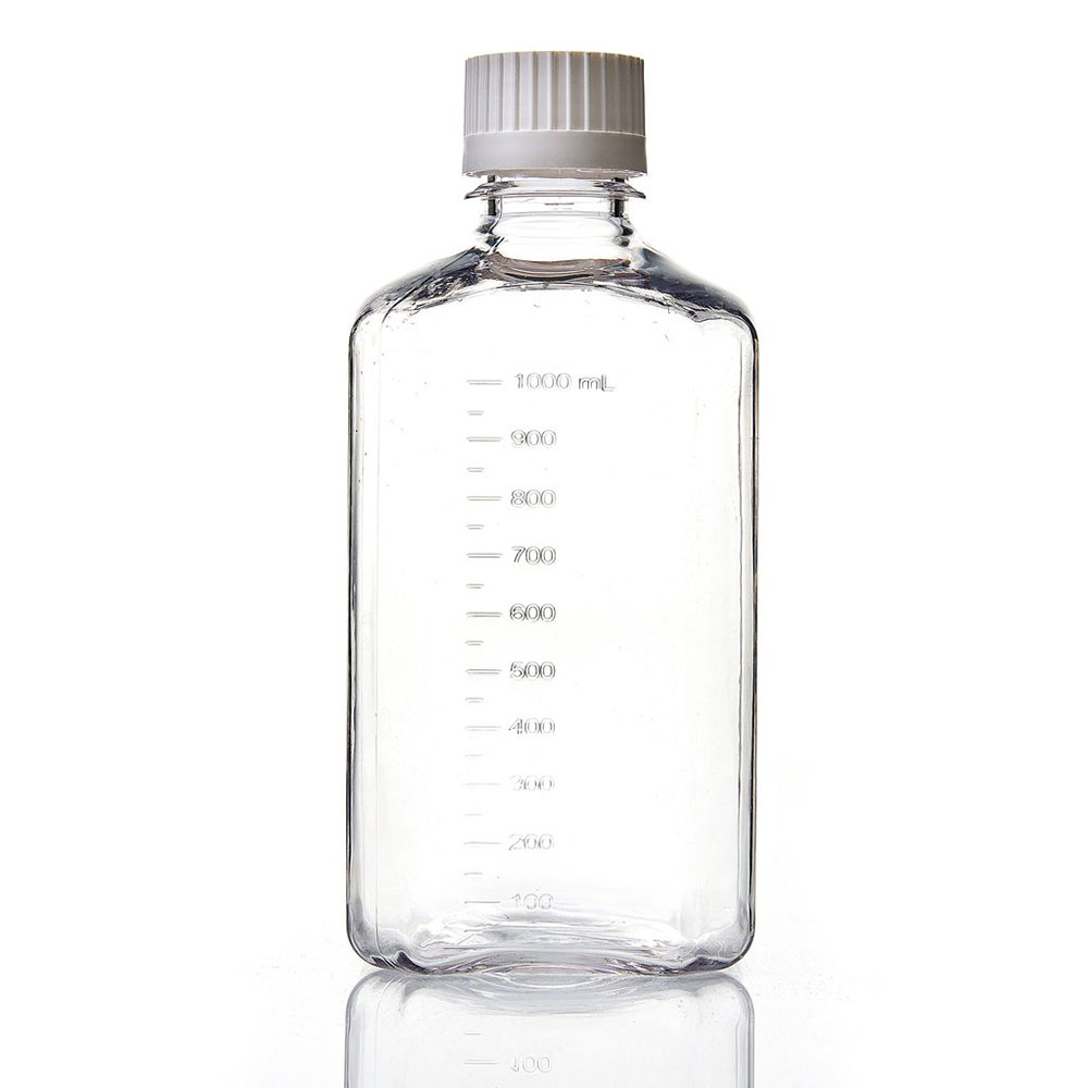 1000mL EZBio® Sterile Polycarbonate Media Bottles with 38/430 Closed VersaCaps®