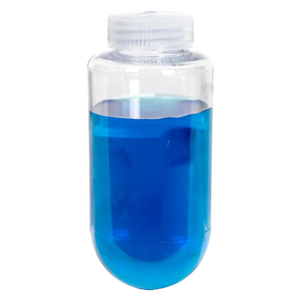 250mL Nalgene™ Polycarbonate Spherical-Bottom Centrifuge Bottle with 38/430 Cap