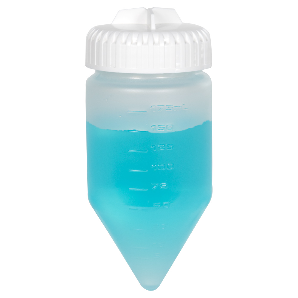 175mL Nalgene™ PPCO Conical-Bottom Centrifuge Bottle with 58mm Cap