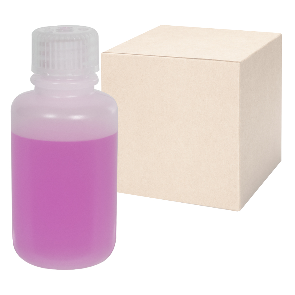 2 oz./60mL Nalgene™ Lab Quality Narrow Mouth HDPE Bottles with 20mm Caps - Case of 72