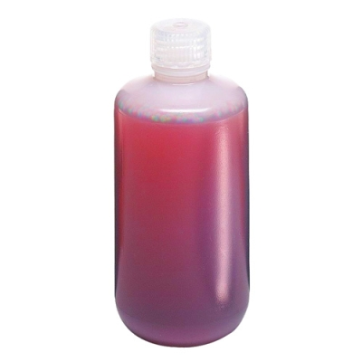 32 oz./1000mL Nalgene™ Narrow Mouth LDPE Bottles with 38/430 Caps (Sold by Case)