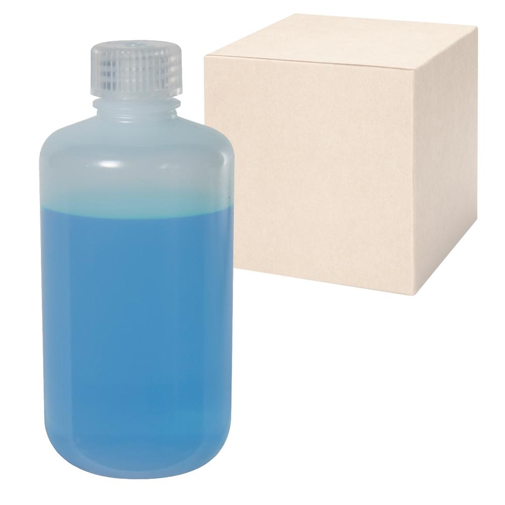 16 oz./500mL Nalgene™ Narrow Mouth LDPE Bottles with 28mm Caps - Case of 48