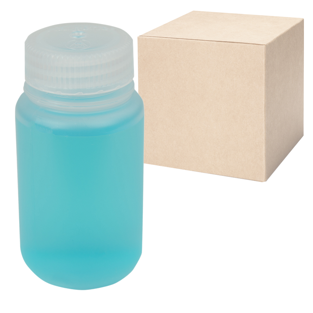4 oz./125mL Nalgene™ Lab Quality Wide Mouth Polypropylene Bottles with 38mm Caps (Sold by Case)