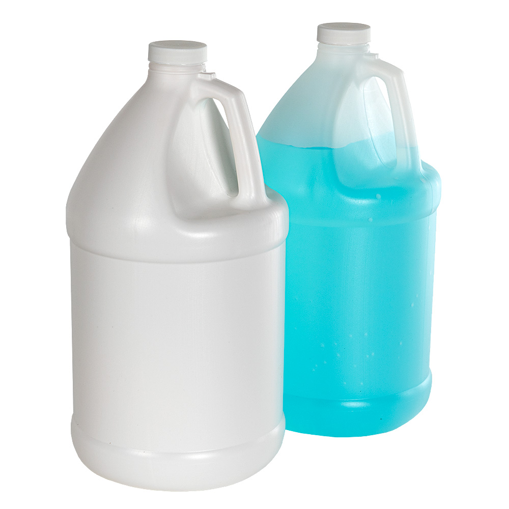 Economy Industrial Round Jugs with Plain Caps