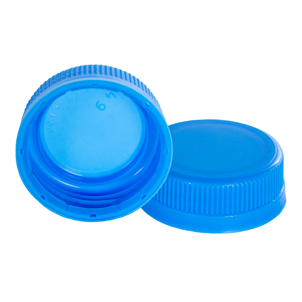 38mm DBJ Waterfall Blue HDPE Tamper Evident Screw Cap