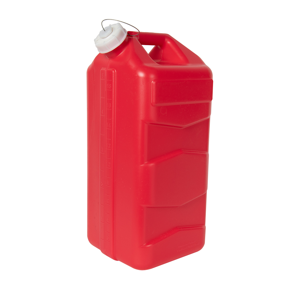 5 Gallon Red 3rd Generation Jug with Cap
