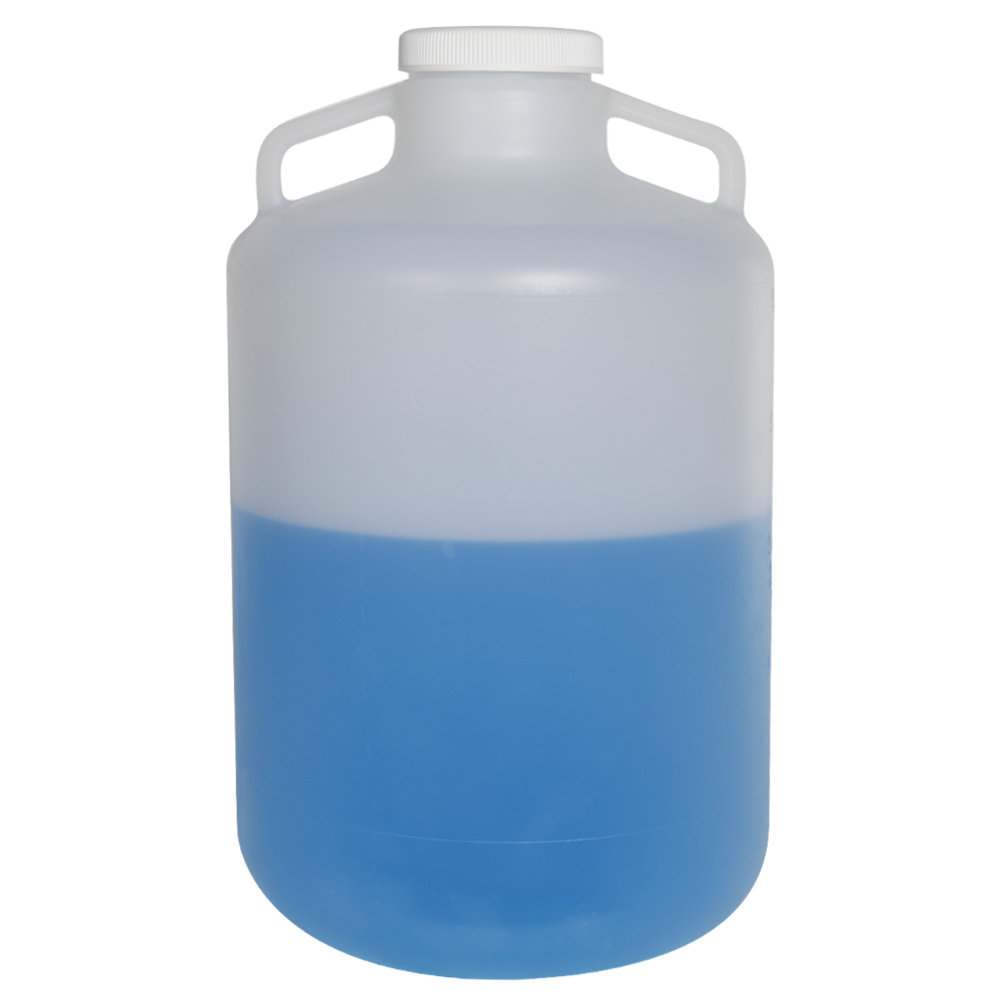 20 Liter Diamond® RealSeal™ Round Wide Mouth Polypropylene Carboy