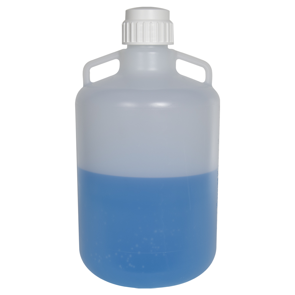 20 Liter Diamond® RealSeal™ Round Polypropylene Carboy