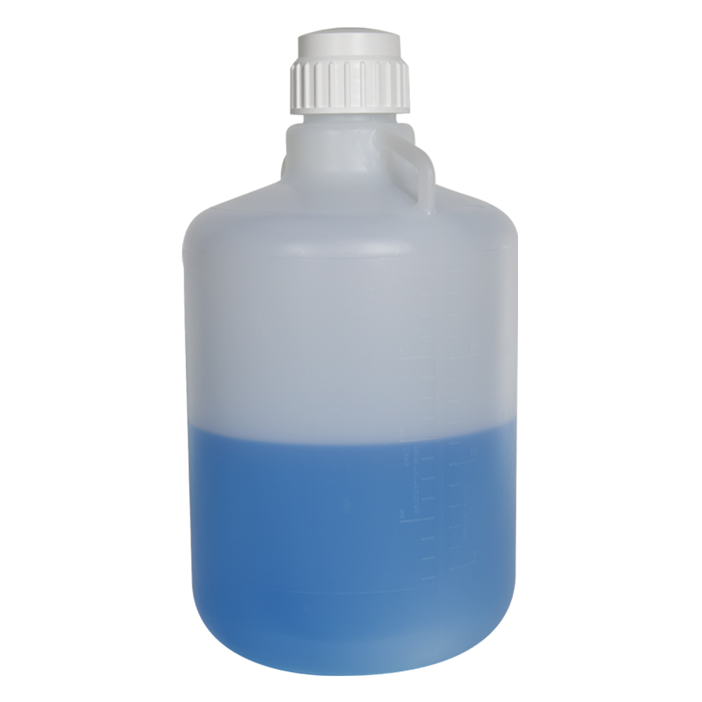 20 Liter Diamond® RealSeal™ Round Heavy-duty Polypropylene Carboy