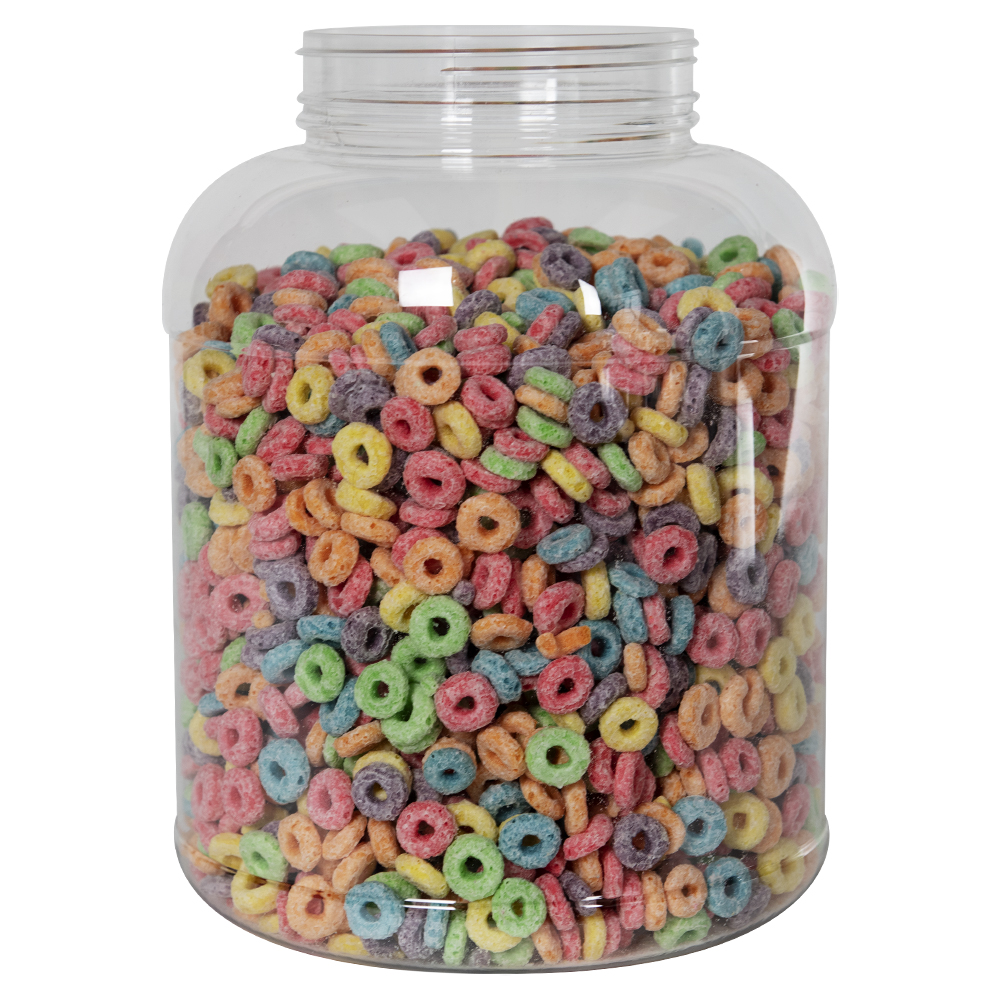 234 oz. Clear PET Jar with 120/400 Neck (Caps Sold Separately)