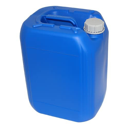 20 Liter/5.28 Gallon Blue HDPE Jerrican with 61mm Tamper-Evident Cap