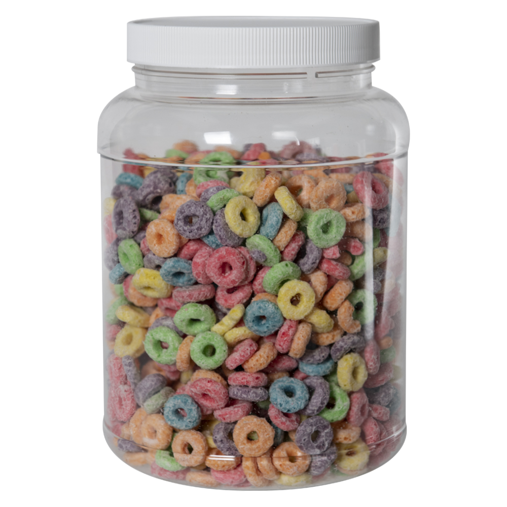 89 oz. Clear PET Jar with 110/400 Cap