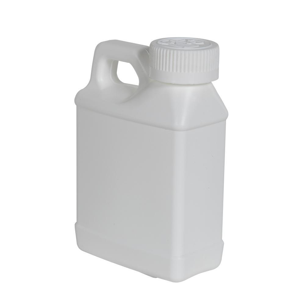 8 oz. White F-Style Jug with 28/400 White CRC Cap