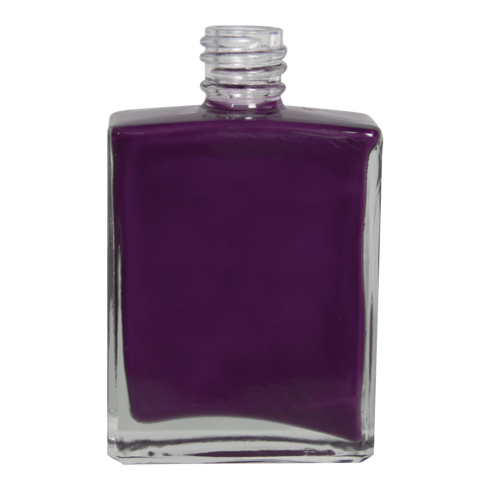 2 oz. Clear Rectangular Glass Bottle with 18/415 Neck (Cap Sold Separately)