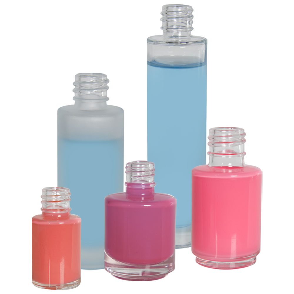 Cylinder Glass Bottles U S Plastic Corp