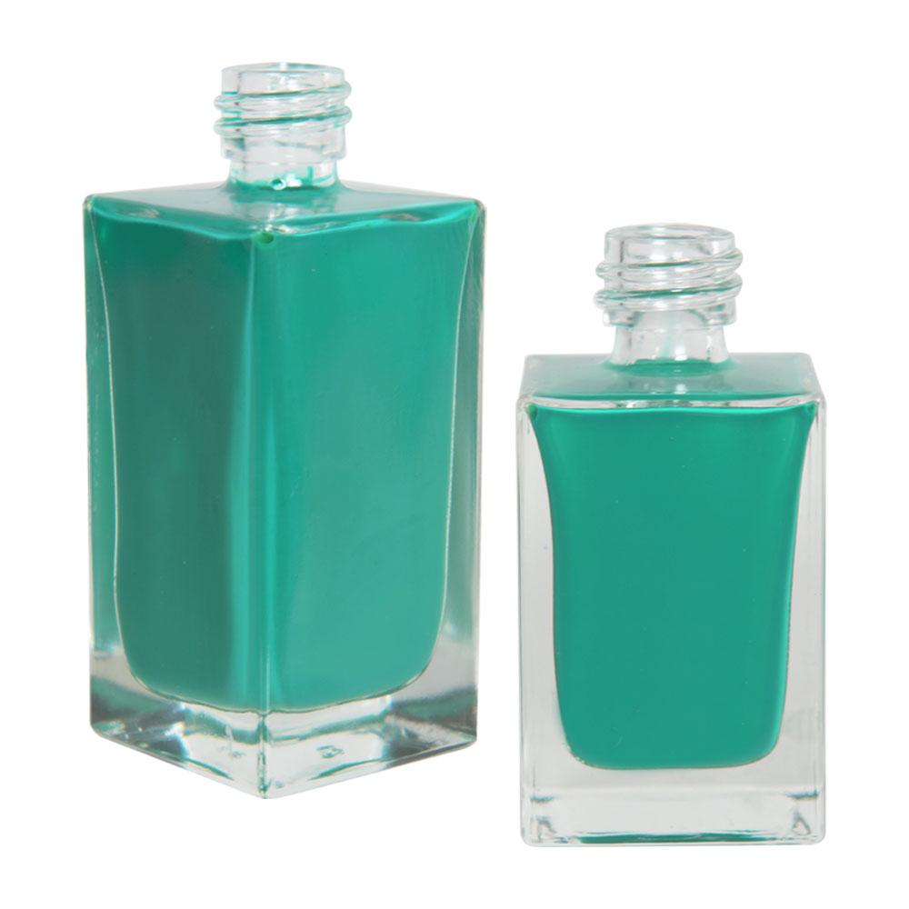 Square Glass Bottles