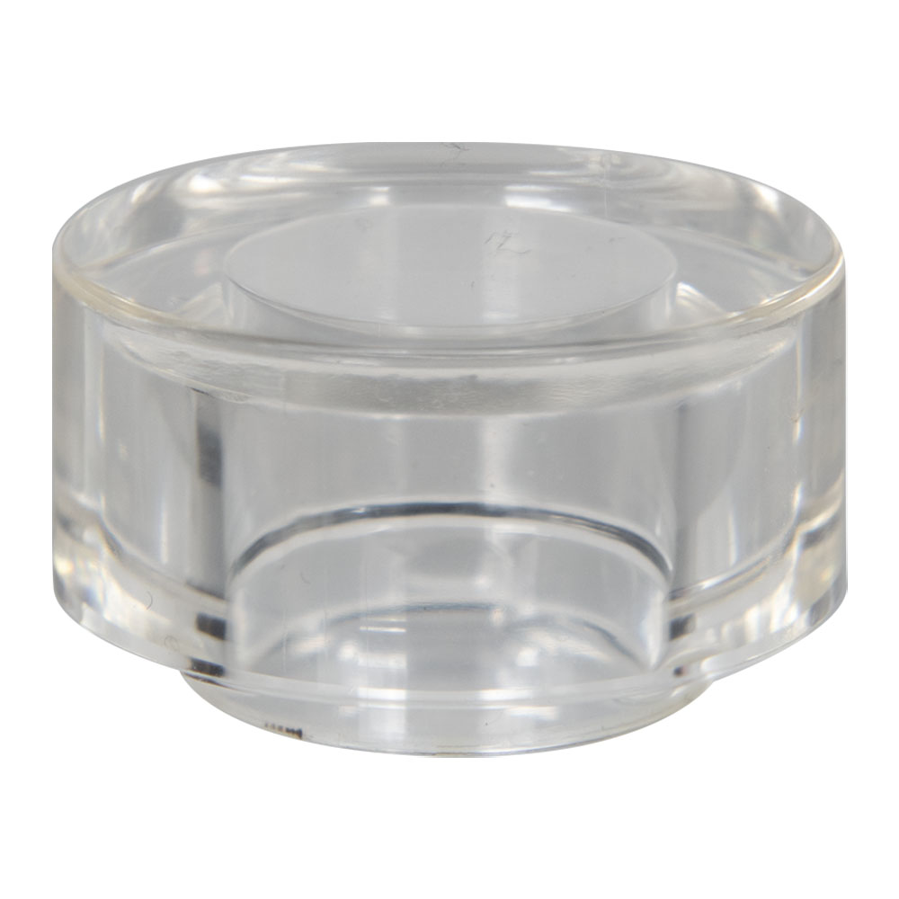 15mm Clear Orbit Surlyn Cap for Perfume Bottle