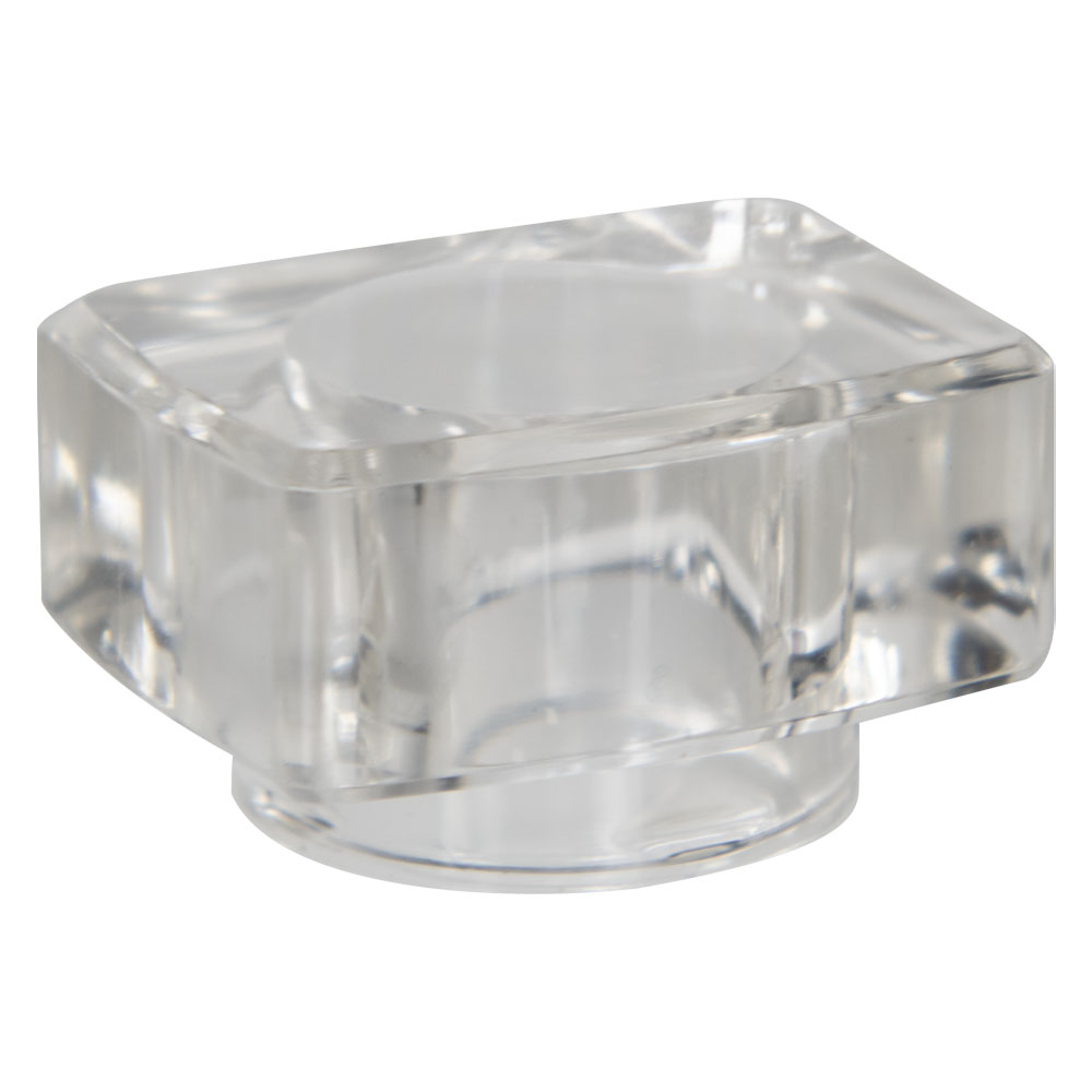 15mm Clear Rectangle Surlyn Cap for Perfume Bottle