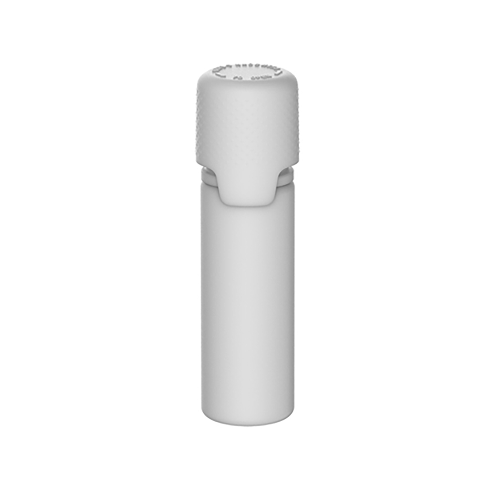 16.5mL White PET Aviator Bottle with White CR Cap & Seal