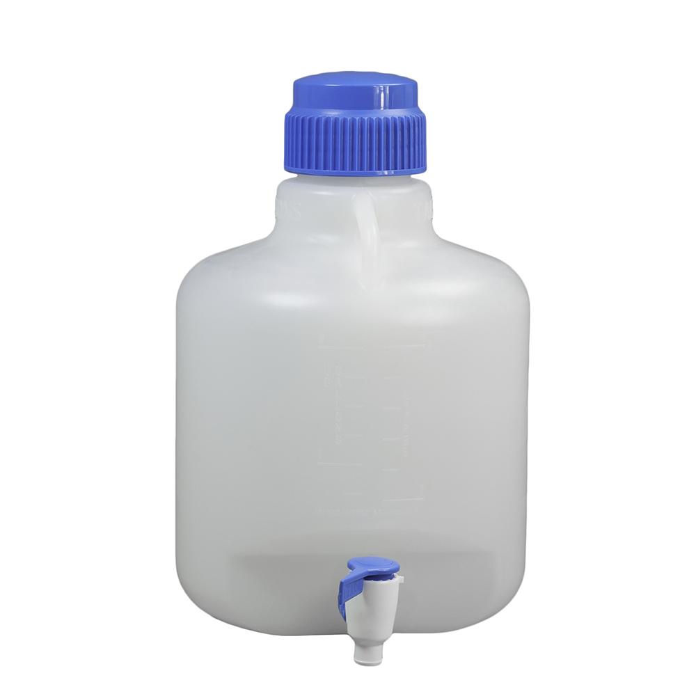 2-1/2 Gallon/10 Liter Autoclavable Polypropylene Carboy with Spigot