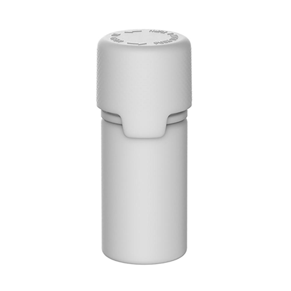 30mL White PET Stubby Aviator Bottle with White CR Cap & Seal