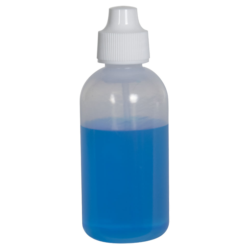 60mL Indicator/Dispensing Bottle with Tube, Tip & Cap