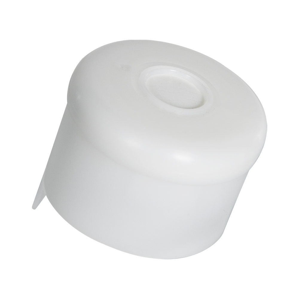 55mm U-5 White Uniseal Cap with Foam Liner