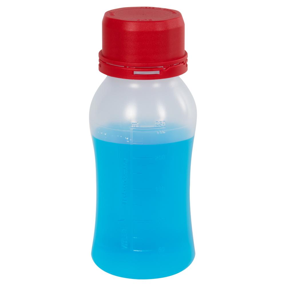 250mL Polypropylene VITgrip™ Lab Bottle with Tamper Evident Cap