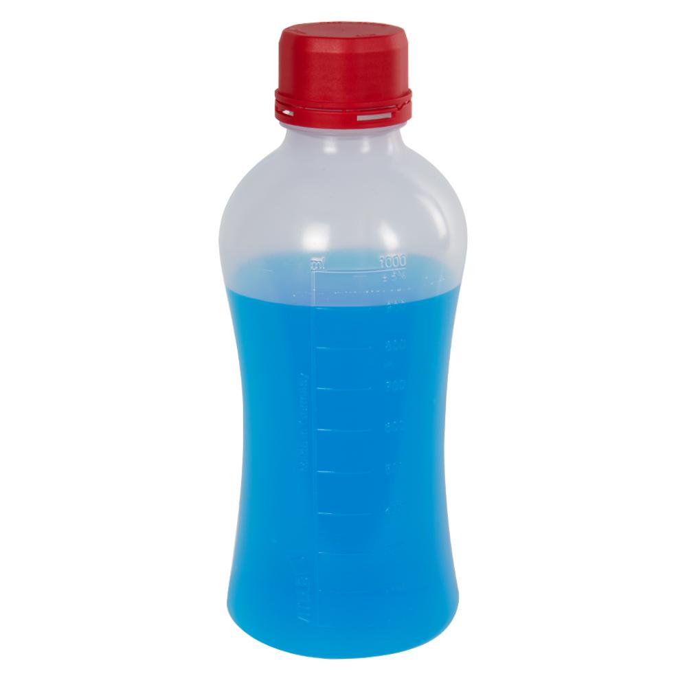 1000mL Polypropylene VITgrip™ Lab Bottle with Tamper Evident Cap